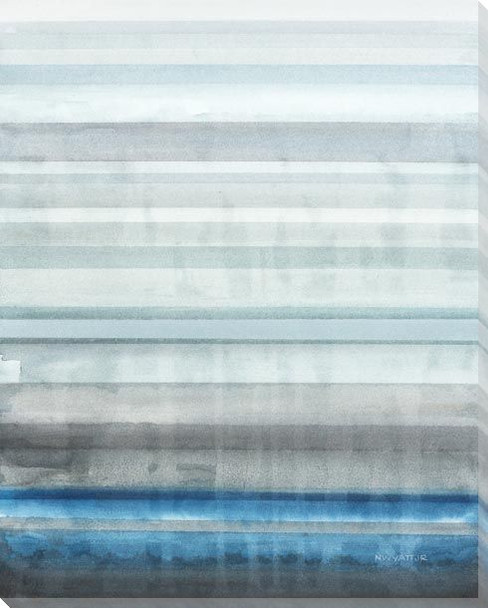 Lake Stratus Wrapped Canvas Giclee Art Print Wall Art