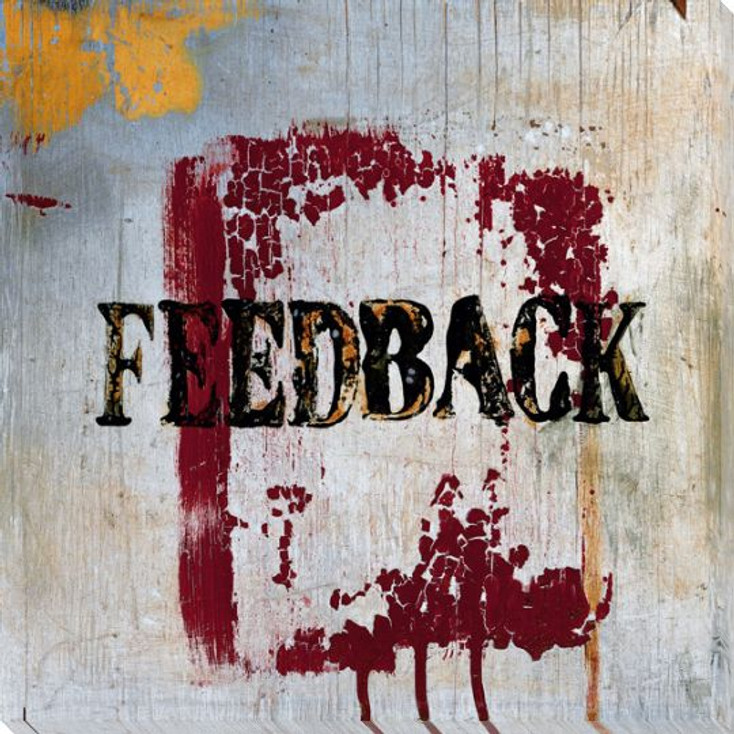"""Feedback"" Wrapped Canvas Giclee Print Wall Art"