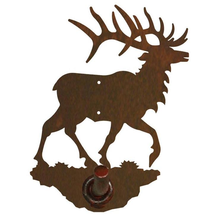 Original Elk Metal Robe Hook