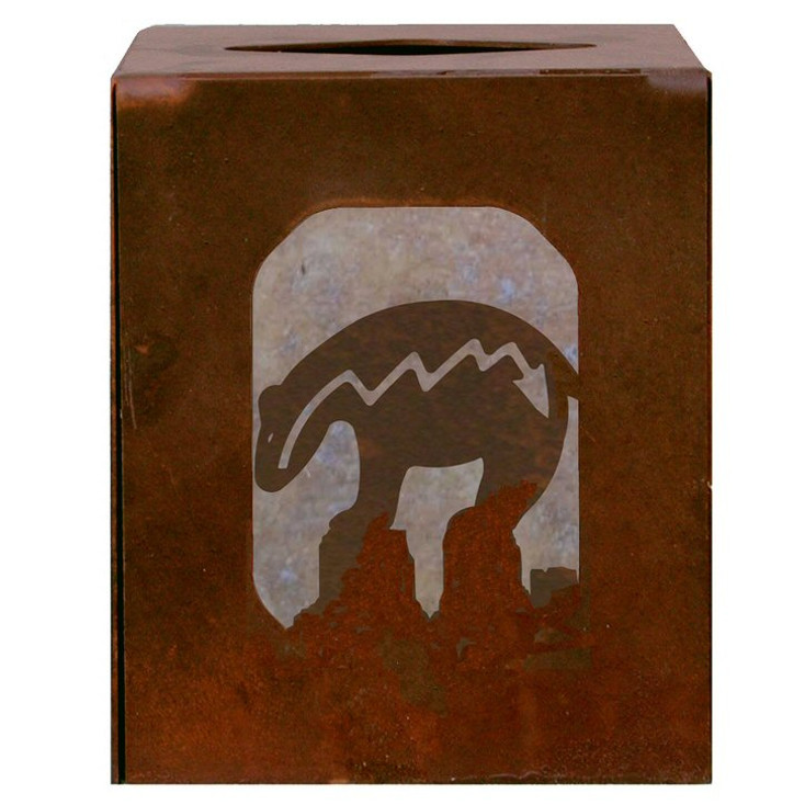 Fetish Bear Metal Boutique Tissue Box Cover
