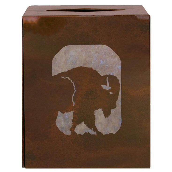 Buffalo Metal Boutique Tissue Box Cover