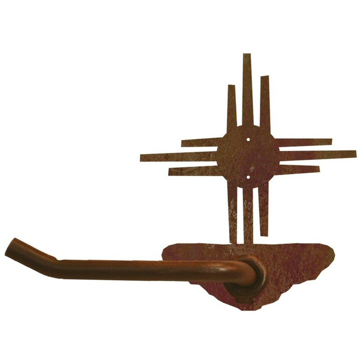 New Mexico Sun Metal Toilet Paper Holder