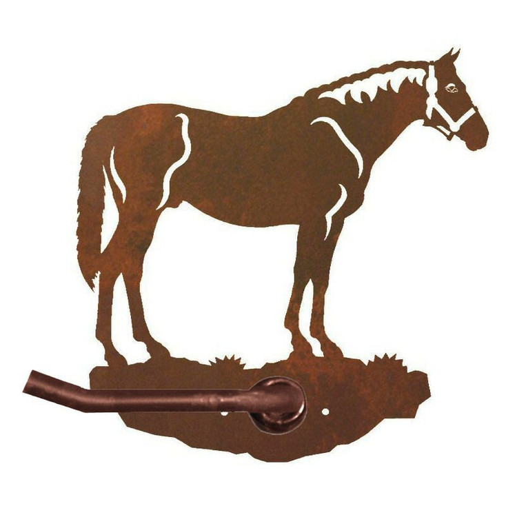 Bay Horse Metal Toilet Paper Holder