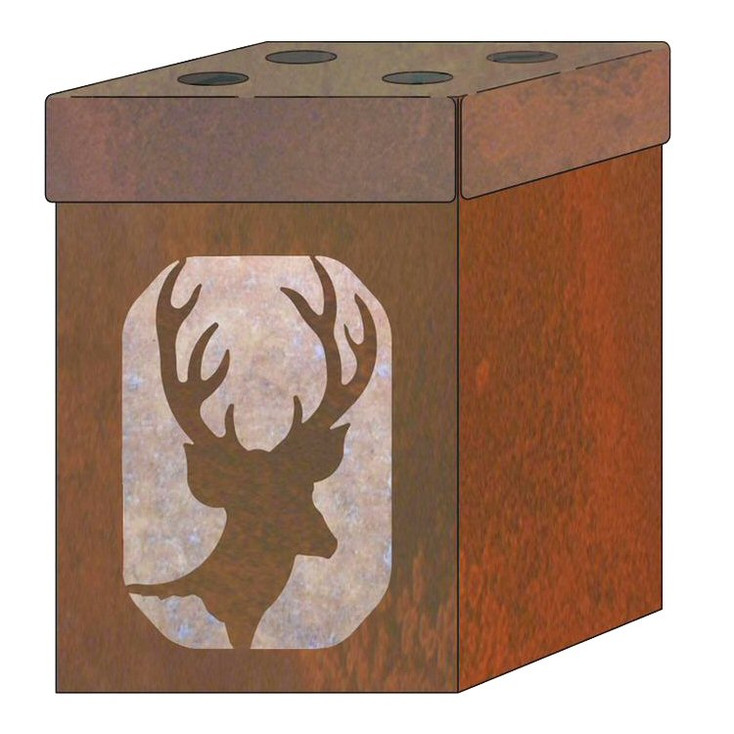 Deer Metal Toothbrush Holder