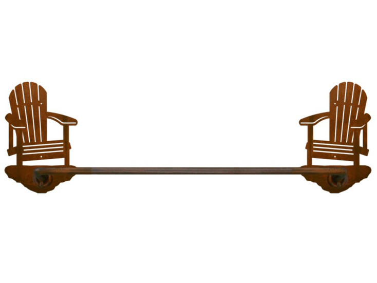 """18"""" Adirondack Chair Metal Towel Bar"""