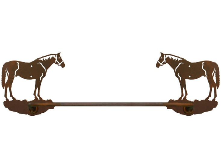 """18"""" Bay Horse Metal Towel Bar"""