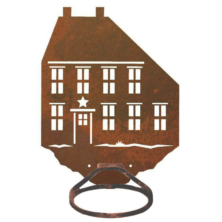 House Metal Bath Towel Ring