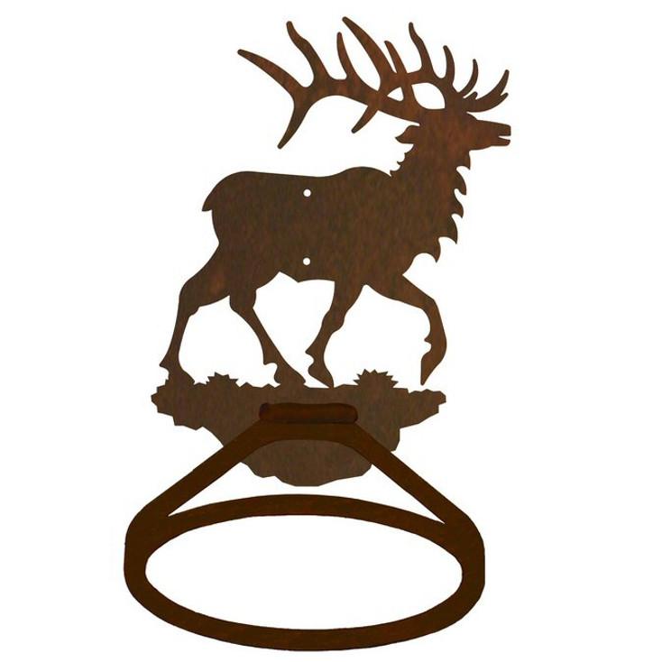 Original Elk Metal Bath Towel Ring