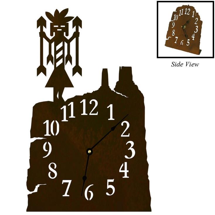 Yei Metal Table Clock