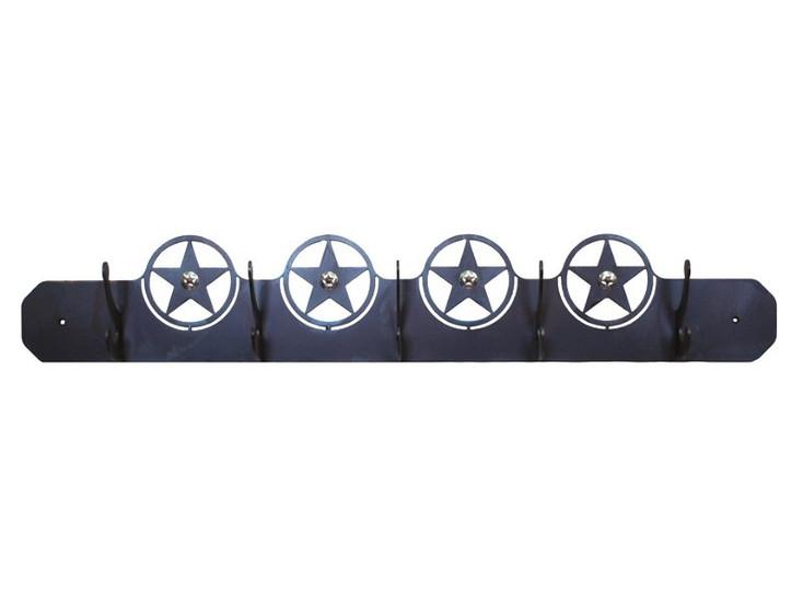 Texas Star Five Hook Metal Wall Coat Rack