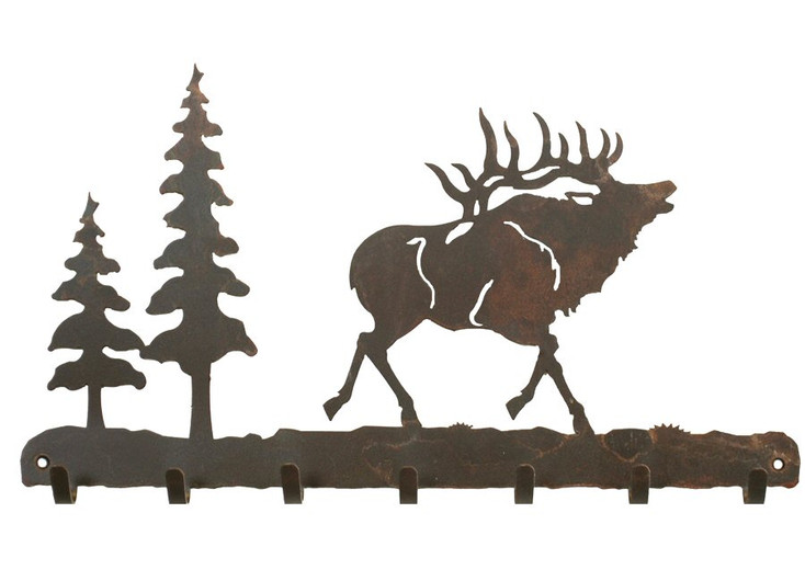 Elk Metal Wall Key Rack