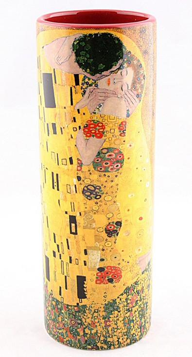 Small The Kiss Ceramic Vase by Gustav Klimt