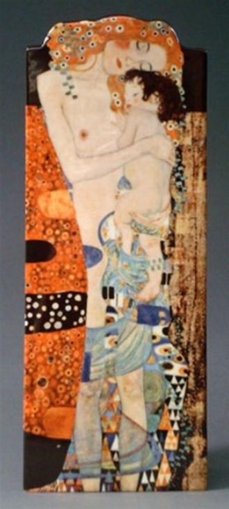 Three Ages of Women Ceramic Vase by Gustav Klimt