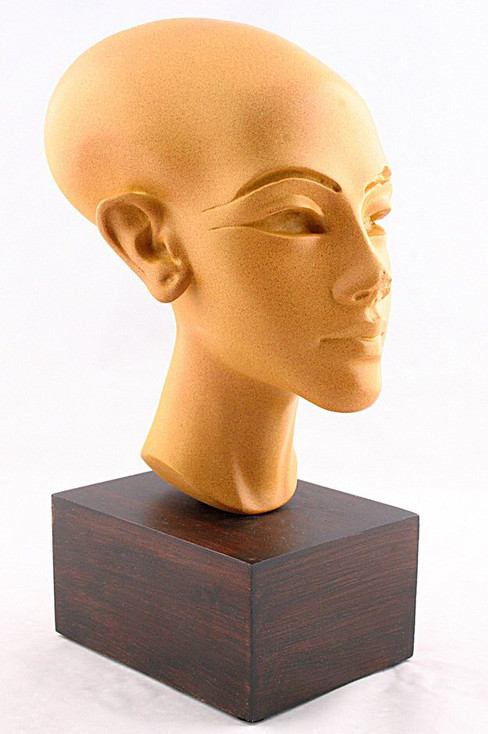 Amarna Egyptian Princess Head Statue