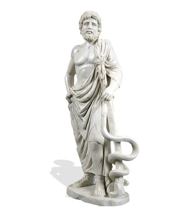 Asclepius Medicine Greek Statue