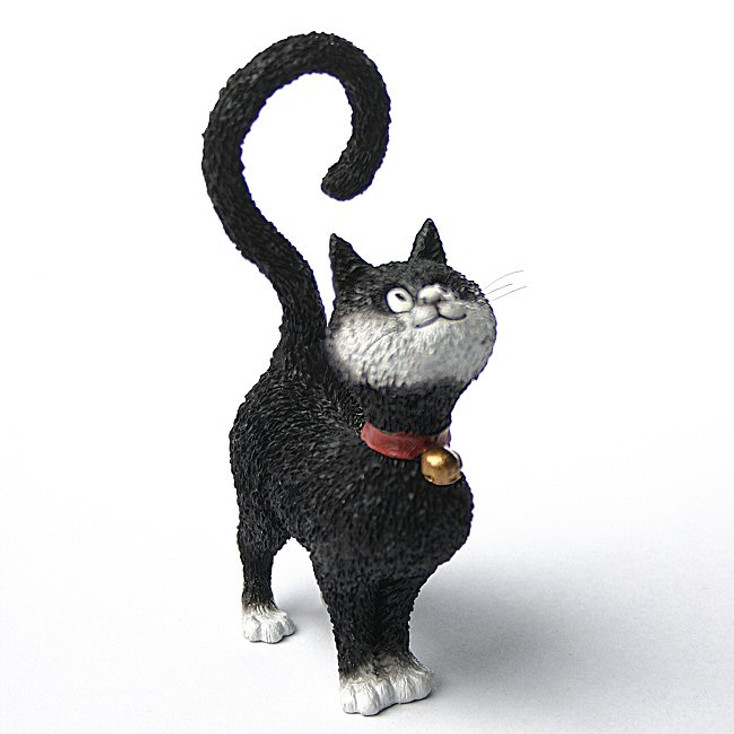 What is For Dinner Question Mark Cat Statue by Albert Dubout