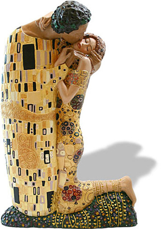 The Kiss Grande Statue (1907) by Gustav Klimt