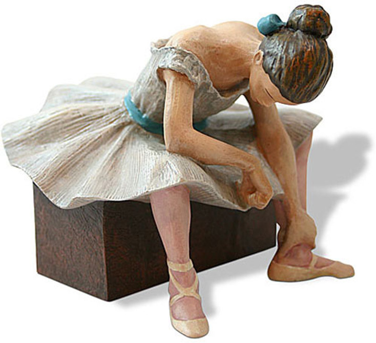 L'attente Statue (1882) by Edgar Degas