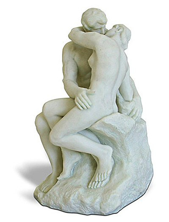 The Kiss Statue by Auguste Rodin