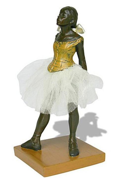 Fourteen Year Old Little Dancer Ballerina Statue by Edgar Degas