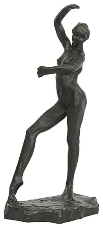 Spanish Dancer Nude Statue Study by Edgar Degas