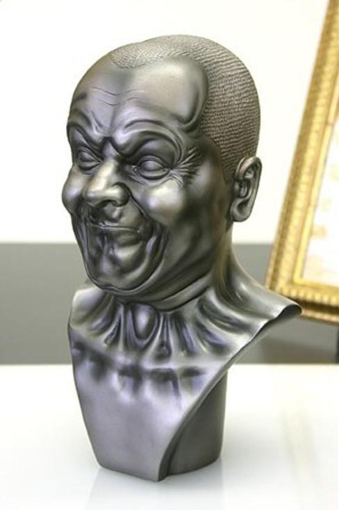 A Strong Man Portrait Bust by Messerschmidt