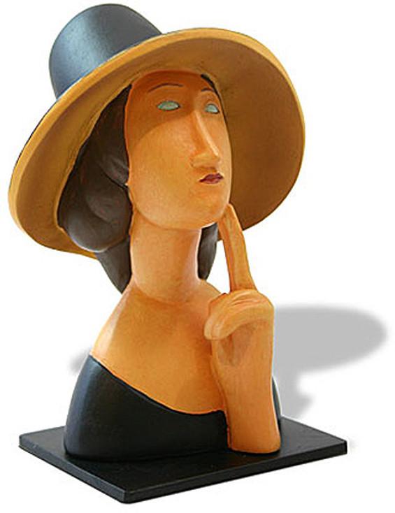 Jeanne Hebuterne Statue (1918) by Modigliani