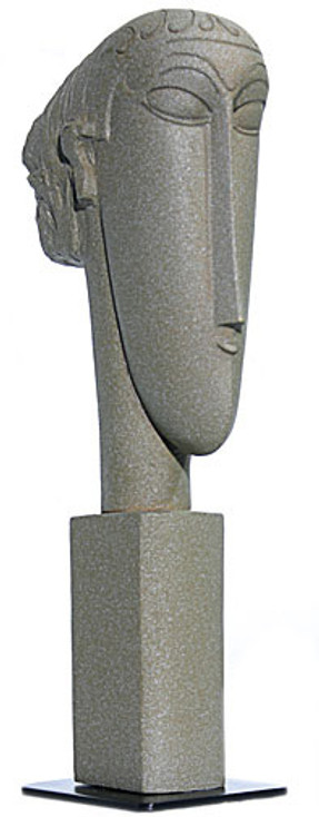 Abstract Head Statue (1911 - 1912) by Modigliani