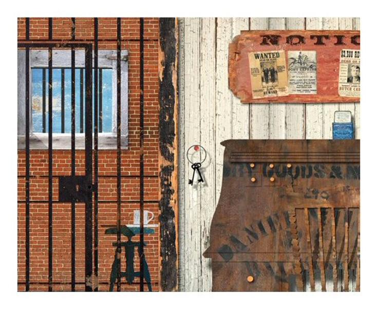 Custom Western Jailhouse Vintage Style Wooden Sign