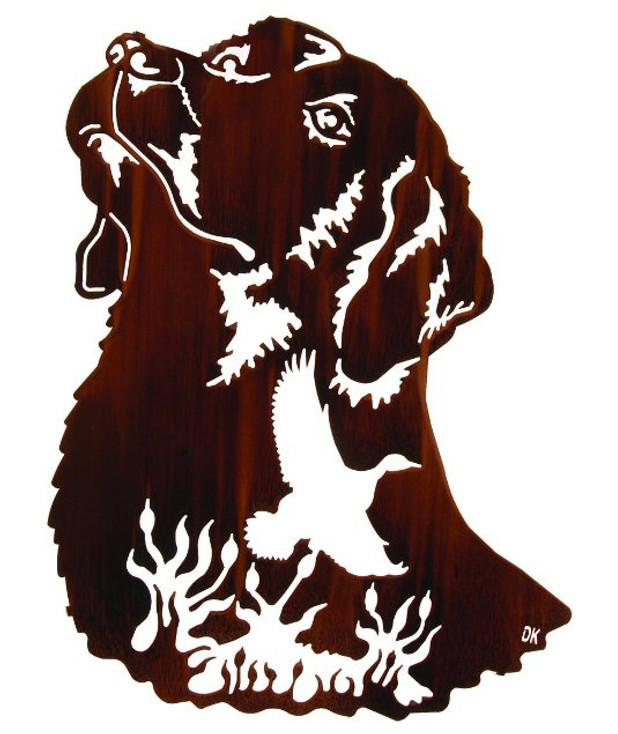 "24"" Remembering Dog Metal Wall Art by Daniel Kirchner"