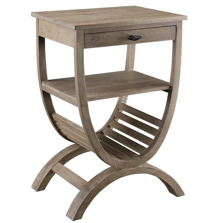 Blondelle Wood Accent Table
