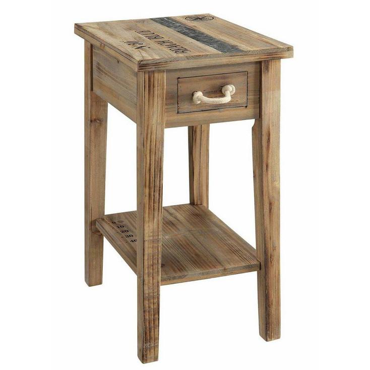 Grand Isle Chairside N 50 Beach Blue Wood End Table
