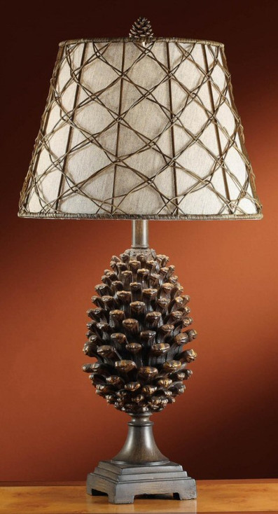 Pine Bluff Pine Cone Table Lamp