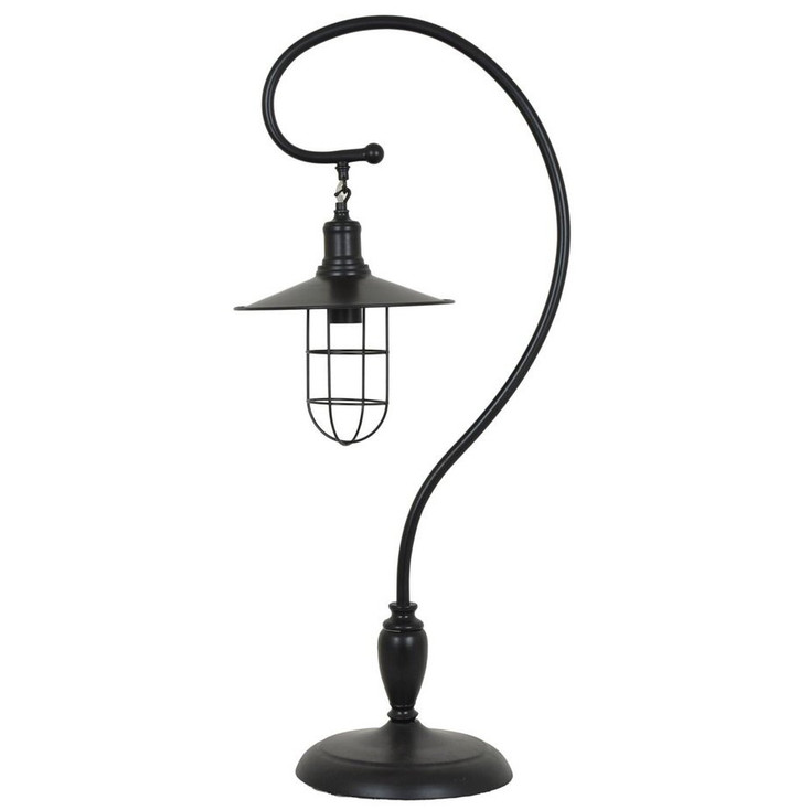 Harbor Side Metal Table Lamp with Metal Shade
