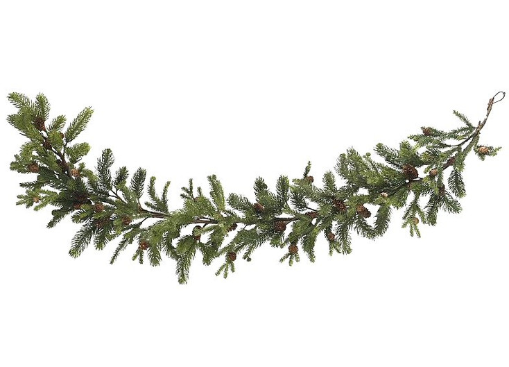 "60"" Pine and Pinecone Garland"