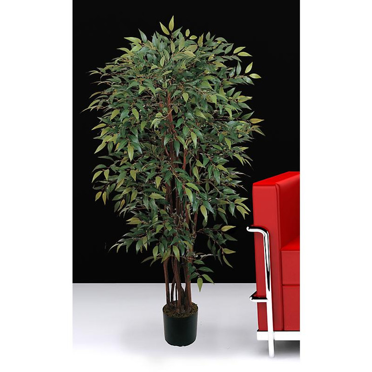 4' Potted Smilax Silk Tree
