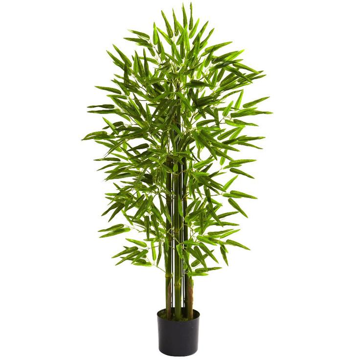 4' Silk Bamboo Tree UV Resistant Indoor Outdoor