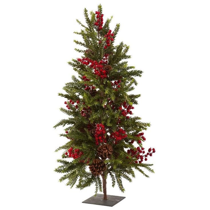 "36"" Pine & Berry Artificial Christmas Tree"