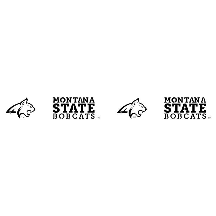 Montana State University Fighting Bobcats Metal Fire Pit Strip Details