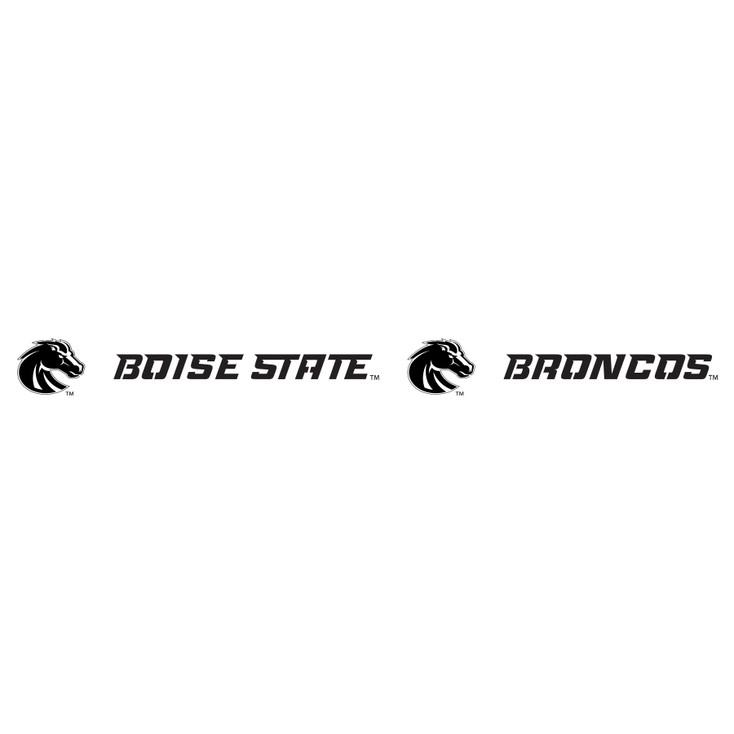 Boise State University Broncos Metal Fire Pit Strip Details
