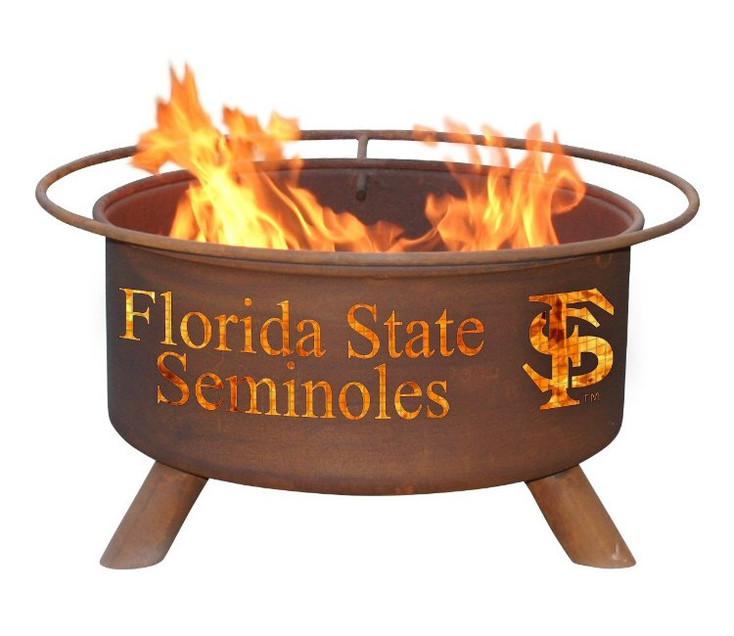 Florida State University Seminoles Metal Fire Pit