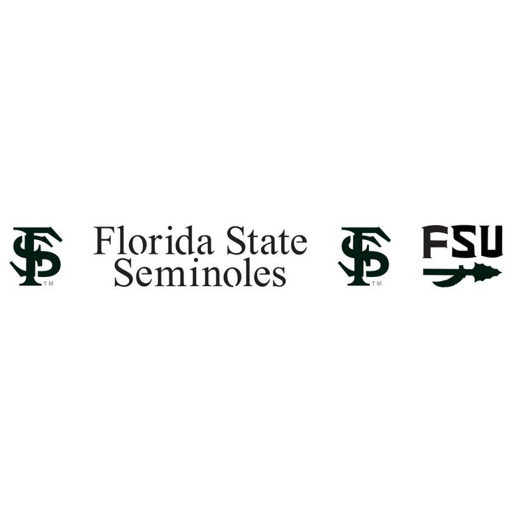 Florida State University Seminoles Metal Fire Pit Strip Details