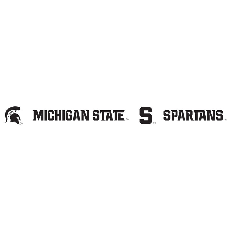 Michigan State University Spartans Metal Fire Pit Strip Details