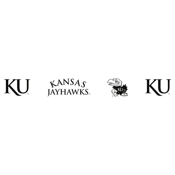 University of Kansas Jayhawks Metal Fire Pit Strip Details