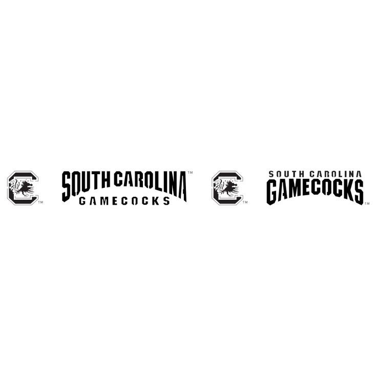 University of South Carolina Gamecocks Metal Fire Pit Strip Details