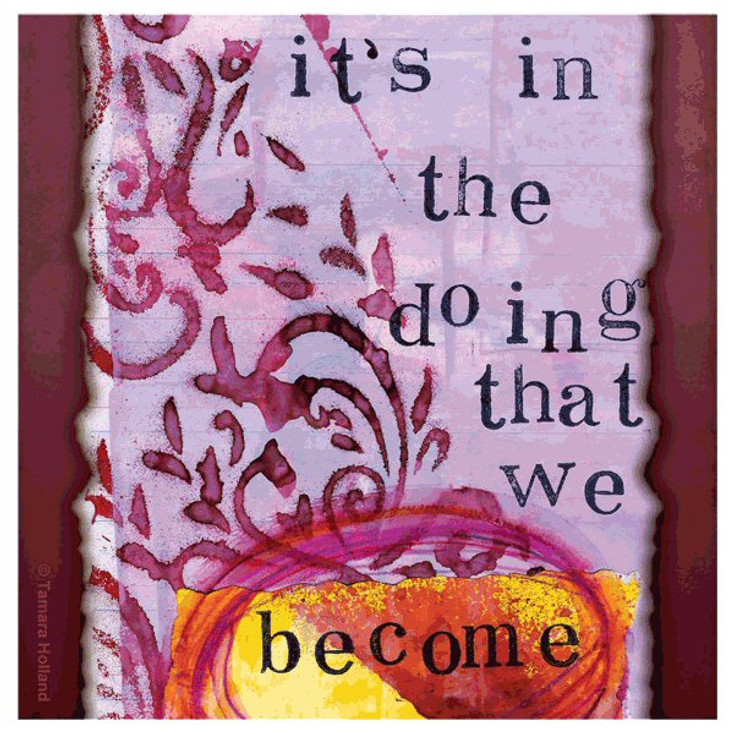 Become Absorbent Beverage Coasters by Tamara Holland, Set of 12