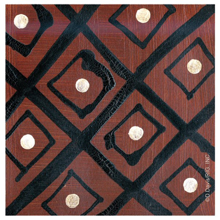 Tribal Pattern IV First Beverage Coasters by D. Davis, Set of 12
