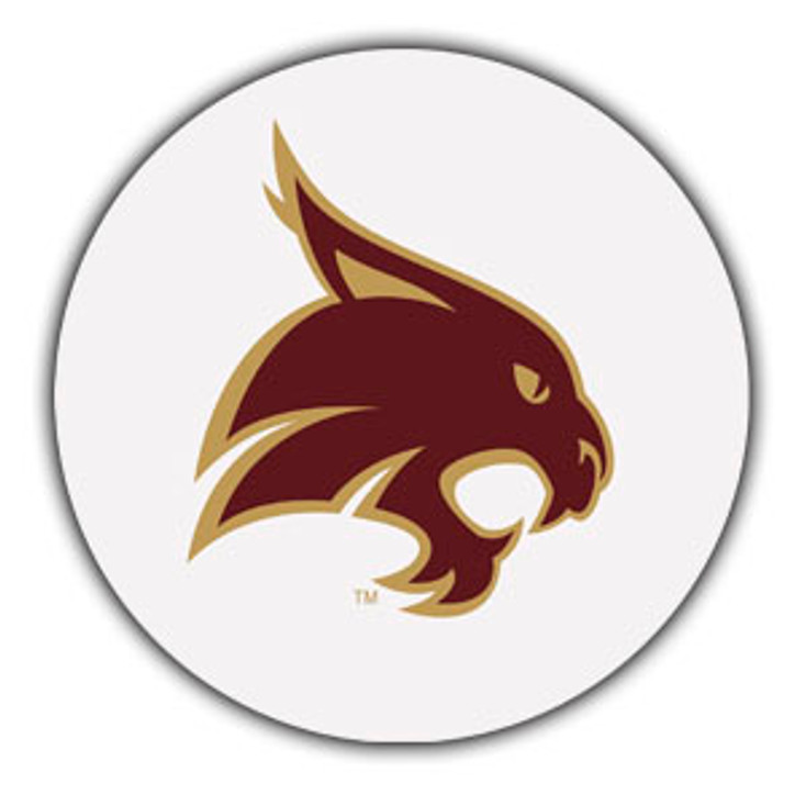 Texas State Bobcats Absorbent Beverage Coasters, Set of 8