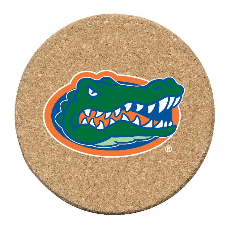 Florida Gators Cork Beverage Coasters, Set of 12
