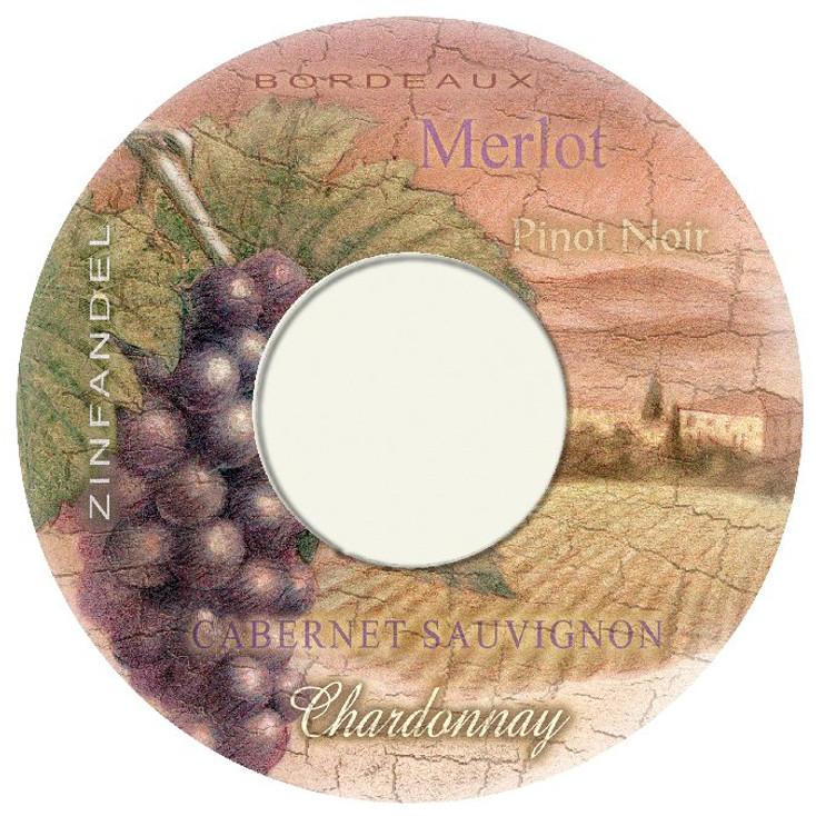 Wine Country Wine Trivet, Set of 2